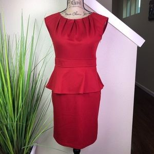 Beautiful fitted red dress from spense
